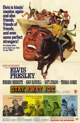 Elvis - Stay Away Joe Movie Poster