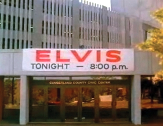 Elvis Tonight Cumberland County Civic Center, Portland ME