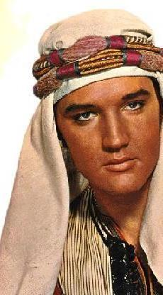 Elvis Wearing Turban in Harum Scarum
