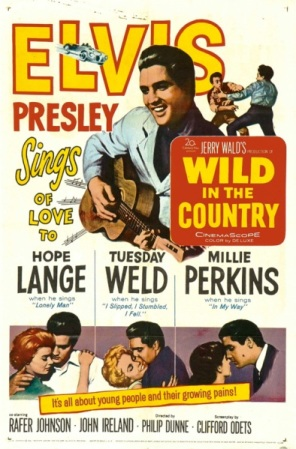 Elvis - Wild In The Country Movie Poster
