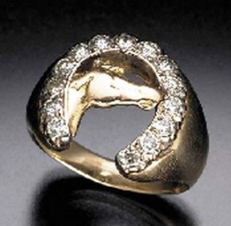 Horse Head Ring - Christie's 2001 !8,000