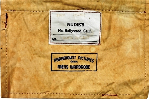 Nudie's Label with Elvis' Name inside Loving You Pants