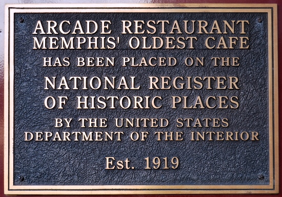 Arcade Restaurant on National Register of Historic Places