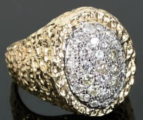 Elvis Presley's Diamond Ring