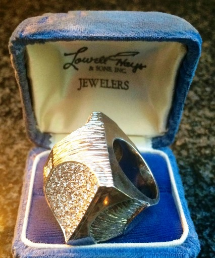 Elvis Presley's Pyramid Ring in Case