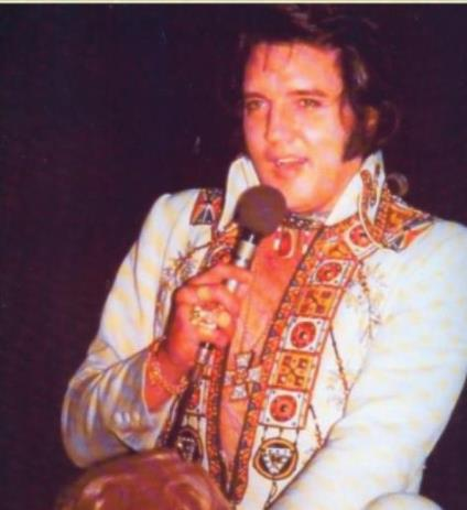 Elvis Wearing Chieftain Ring