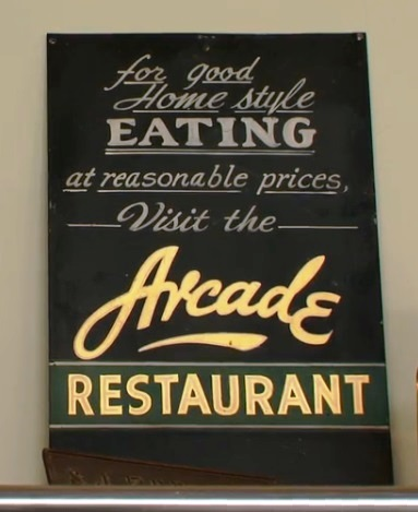 Good Home Style Eating at the Arcade Restaurant