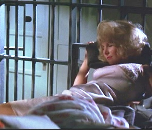 Teri Garr in jail in Girl Happy