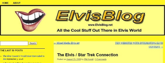 The Elvis - Star Trek Connection