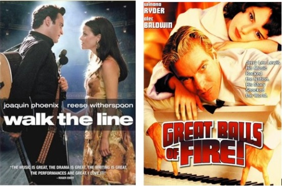 Walk the Line and Great Balls of Fire