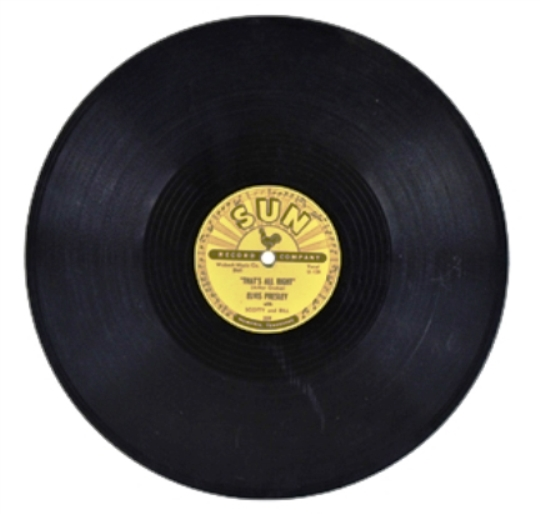 Elvis 78 RPM Record That's Alright Mama