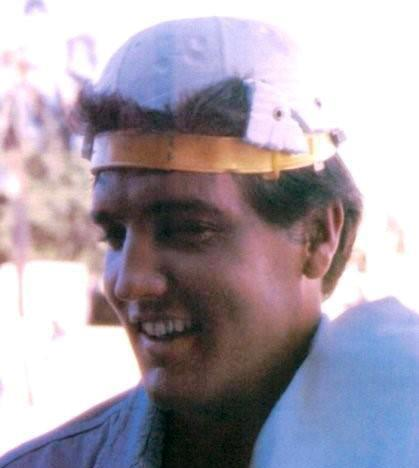 Elvis Ballcap on Backwards