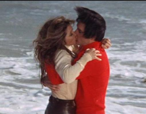 Elvis Kissing Michele Carey in Live a Little