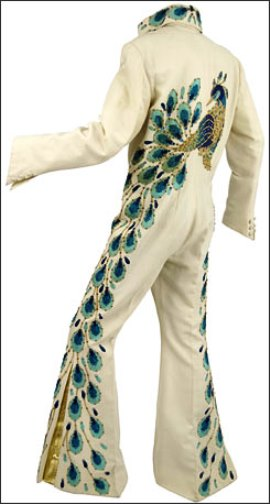 Elvis Presley' Peacock Jumpsuit