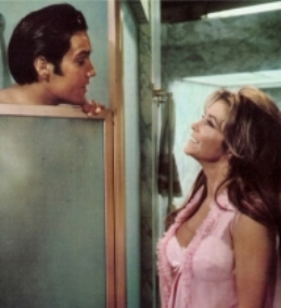 Elvis in Shower Scene with Michele Carey