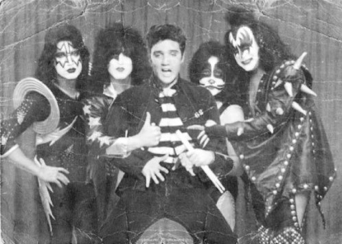 Elvis and KISS