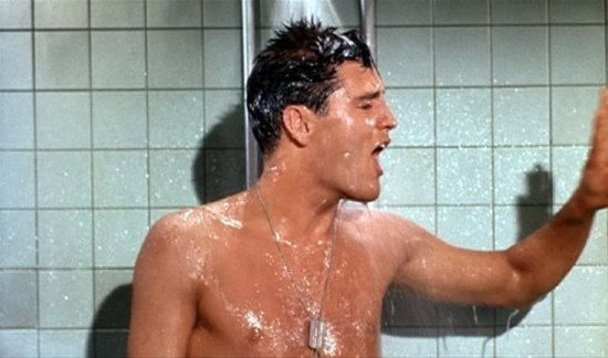Elvis in the Shower