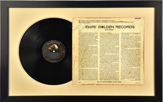 Elvis Presley Signed Album