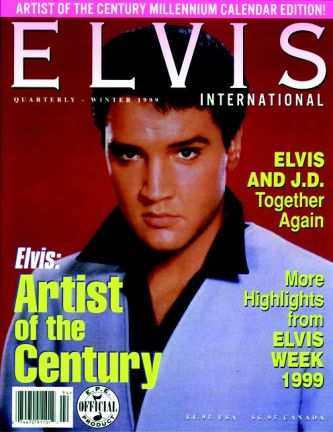 Elvis International magazine winter 1999