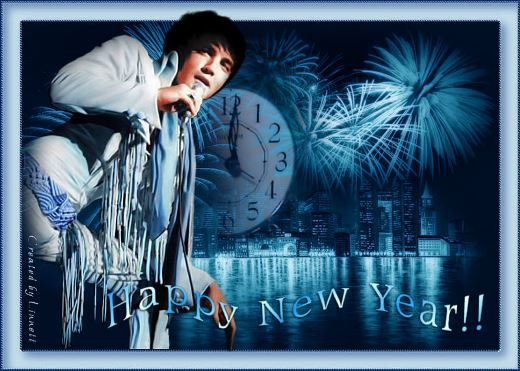 Elvis - Happy New Year in Blue