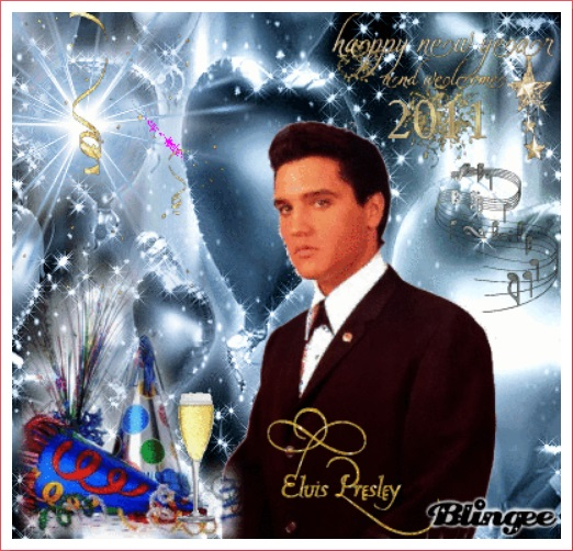 Elvis - Happy Near Year and Welcome 2014