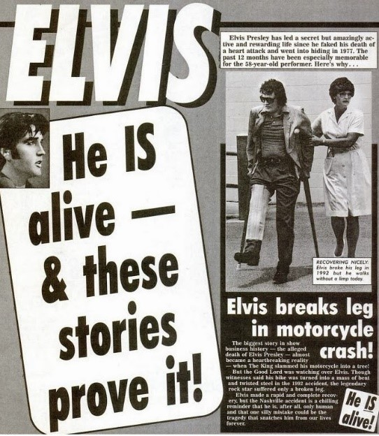 Elvis He is Alive