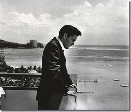 Elvis Presley at USS Arizona Memorial