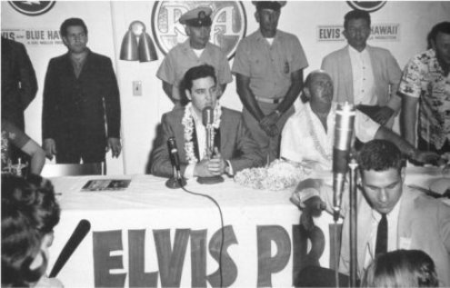 Elvis Press Conference at Pearl harbor