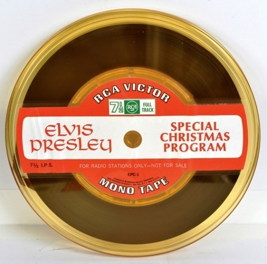 Elvis Special Christmas Program Reel-to-reel Tape