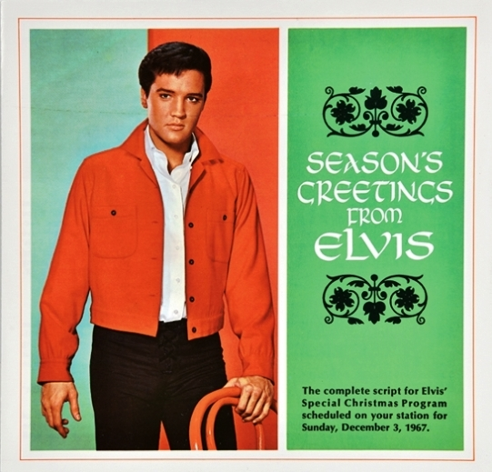 Elvis Special Christmas Program Season's Greetings from Elvis