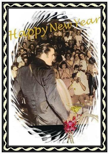 Elvis and crowd - Happy new Year