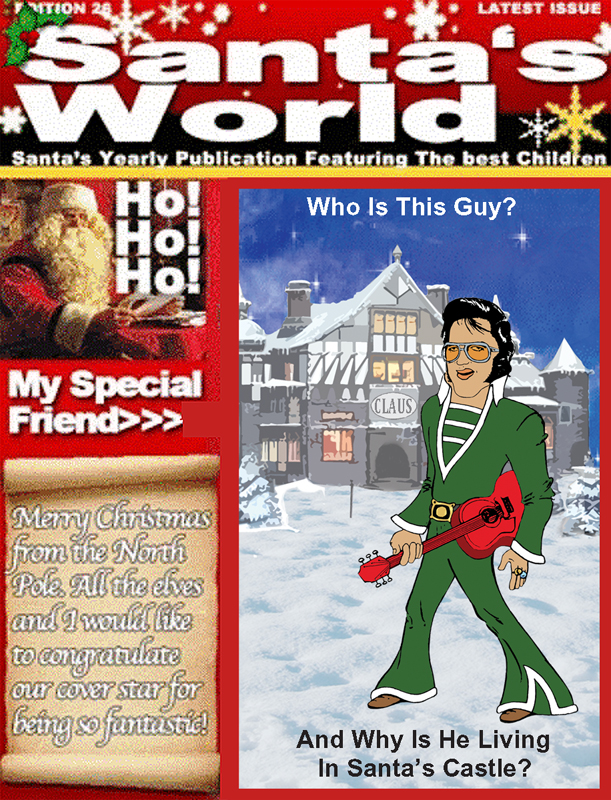 Santa World Cover