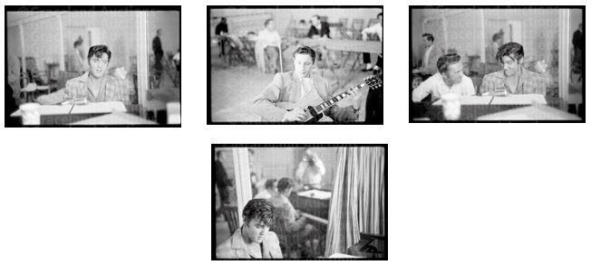 35mm Negatives of Elvis Presley Jam Session with Scotty Moore
