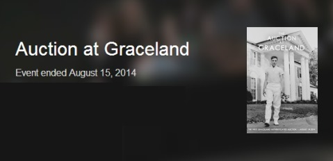 August 14, 2014 Auction At Graceland