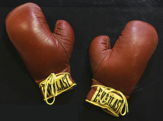 Elvis - Boxing Gloves used in Kid Gallahad