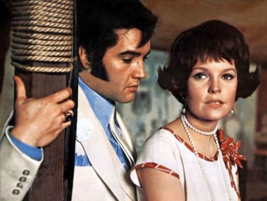 Elvis Presley and Marlyn Mason in The Trouble with Girls