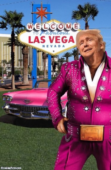 Elvis Trump in Las Vegas