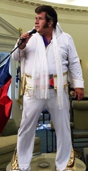 George Bush 43 as Elvis