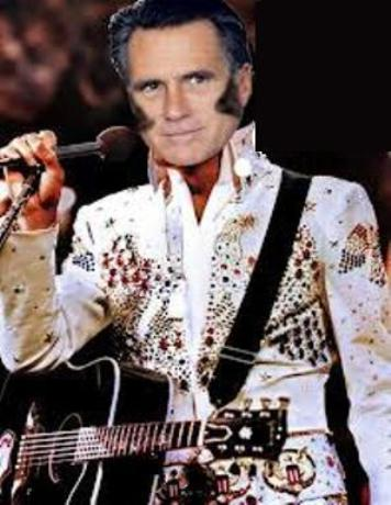 George Romney as Elvis