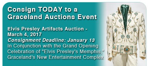 March 4 2017 Auction at Graceland