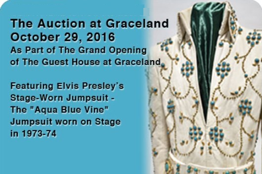 October 29, 2016 Auction at Graceland