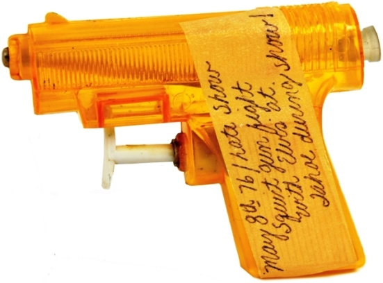 Rockin' Robin's Squirt Gun from the May 8, 1976 Sahara Tahoe Elvis Presley Squirt Gun Fight