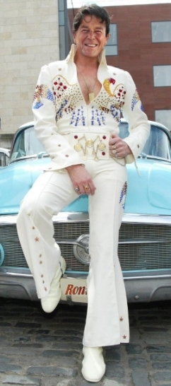 Ronald Reagan as Elvis