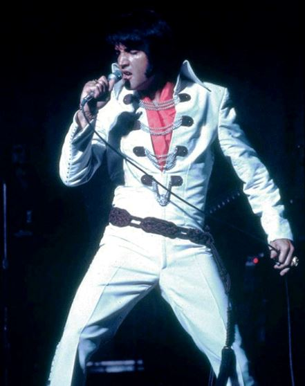 Elvis Presley Chain Jumpsuit