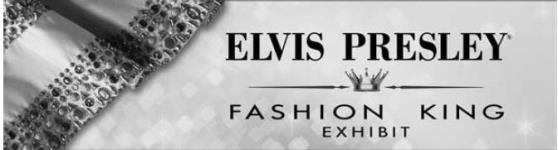 Elvis Presley Fashion King Exhibit