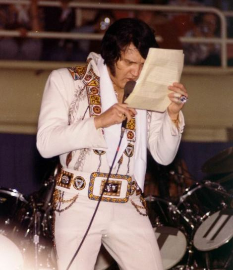 Elvis Reading Song Lyrics