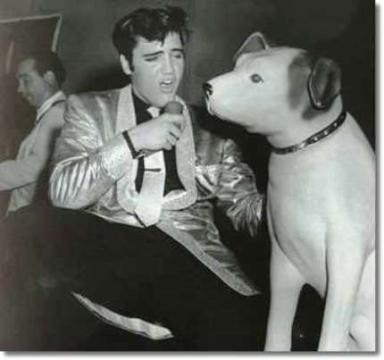 Elvis and Nipper