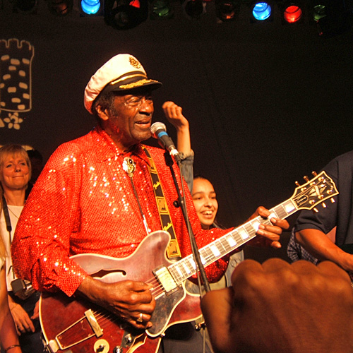 Chuck Berry at Chicago Show 2011