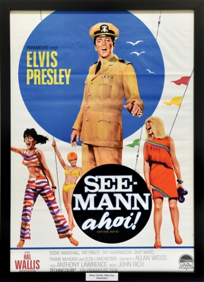 Elvis Easy Come, Easy Go German Movie Poster