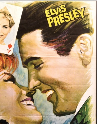 Elvis It Happened at the World's Fair Spanish Movie Poster - Close-up 1